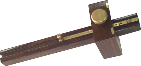 MORTICE GAUGE - BRASS FACE