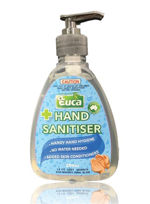 HAND SANITISER -  250ML - EUCA