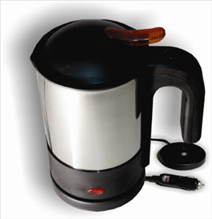 KETTLE - 12 VOLT CAR KETTLE - STAINLESS STEEL