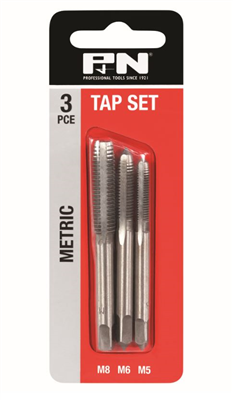 TAP SET - METRIC - 3 PIECE - P&N