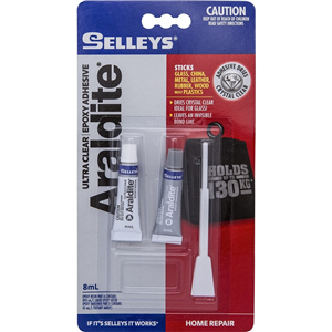 PORCELAIN REPAIR KIT - SUPERSEDED BY SELLEYS ULTRA CLEAR ARALDITE
