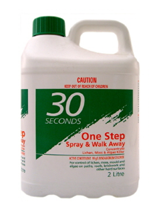 CLEANER - 30 SECONDS - ONE STEP - SPRAY & WALK AWAY  - 2 LITRES