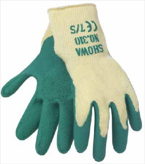 GLOVE GARDEN - SHOWA 310 GREEN - EXTRA SMALL