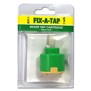 CARTRIDGE - MIXER TAP CARTRIDGE - FLAT - 40MM
