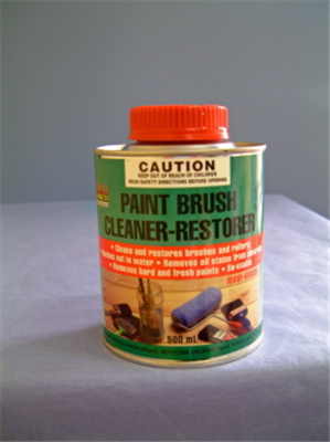 CLEANER/RESTORER - PAINT BRUSH AND ROLLER - 500ml