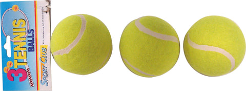BALL - TENNIS BALLS - 3 PACK