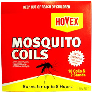 MOSQUITO COILS - 10 PACK - HOVEX