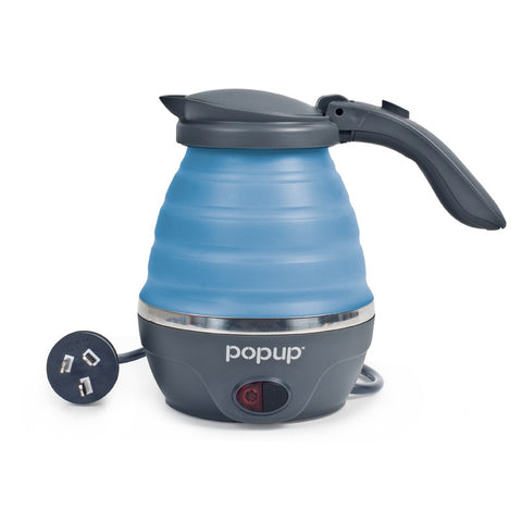KETTLE - POP UP - 24V - 800ML - GREY