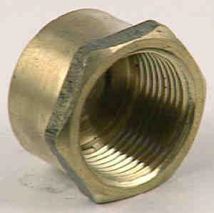 CAP BRASS - HEX 20mm