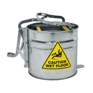 MOP BUCKET - METAL - 12 LITRE  - CONTRACTORS