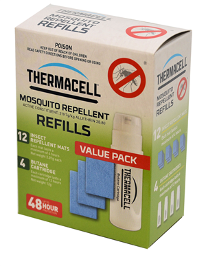 MOSQUITO REPELLER - THERMACELL - REFILL - 48 HR