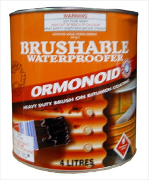 ORMONOID BITUMEN COMPOUND - BRUSHABLE - 4 Litres