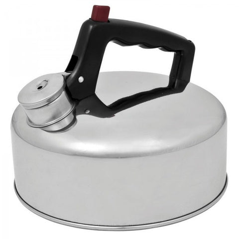 KETTLE  - STAINLESS STEEL - WHISTLING - 2 LITRE  - CAMPFIRE