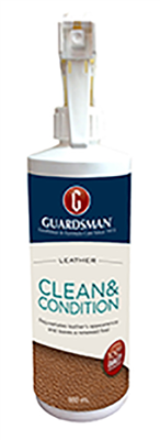 LEATHER CLEANER/CONDITIONER  - 500ml - GUARDSMAN