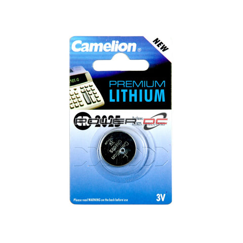 CR2025 - LITHIUM BATTERY  - CAMELION