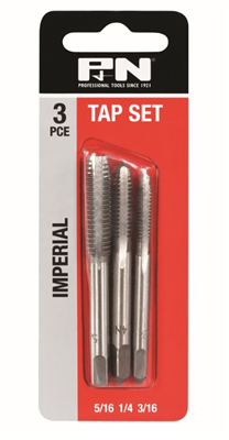 TAP SET - IMPERIAL - 3 PIECE - P&N