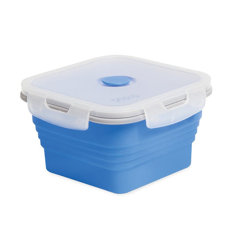 FOOD CONTAINER - 1 LITRE - WITH CLIP LOCK LID - POP UP