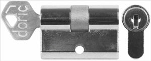 CYLINDER LOCK - WAFER TYPE  - DOUBLE SIDED