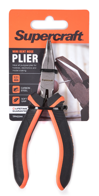 MINI BENT PLIERS  -  121mm -  SUPERCRAFT