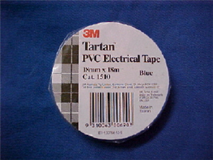 ELECTRICAL TAPE - BLUE - 18mm x 18m
