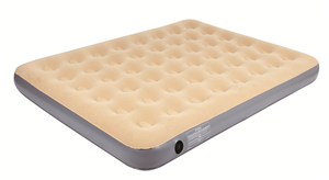 AIR BED - QUEEN - VELOUR FLOCKED TOPPED - MULTI-CHAMBER - OZTRAIL
