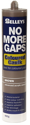 NO MORE GAPS - BROWN CAULKING FILLER