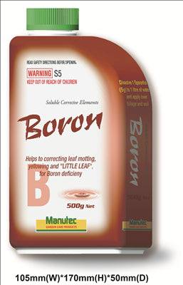 BORON - SOLUBLE 500G