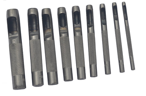 HOLLOW PUNCH SET - 9 PIECE
