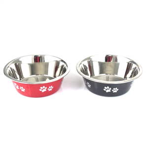 PET BOWL - 25CM - STAINLESS STEEL