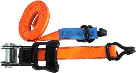 RATCHET TIE DOWN- HEAVY DUTY - 5 METRE x 25mm - WORKFORCE - 500KG