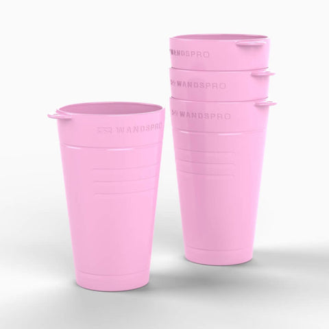CUP - ROSE PINK - CLIPCROC - 4 PACK
