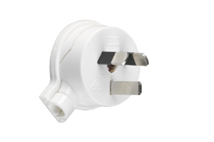 PLUG TOP - SIDE ENTRY 10AMP - WHITE