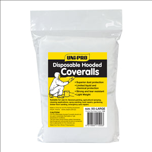 COVERALLS -  DISPOSABLE - XXL - UNIPRO