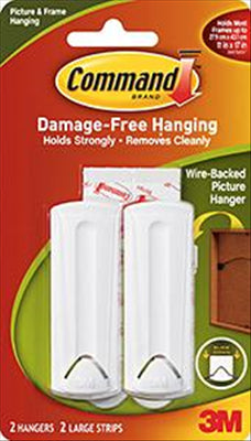 PICTURE HANGER - WIREBACK - COMMAND - 3M