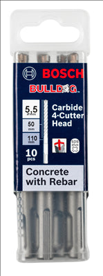 CONCRETE - 5.5mm x 110mm - 10 PIECE PACK - WITH REBAR