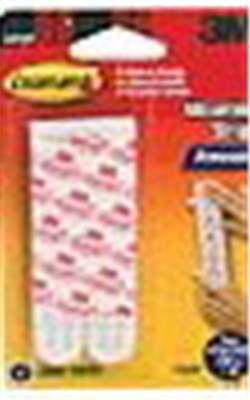 PICTURE HANGER  REFILL STRIPS - LARGE WHITE  - 6 PACK - COMMAND