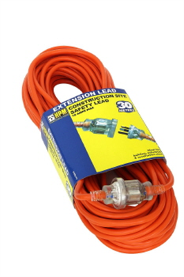 EXTENSION LEAD 30m - 10A - TRADESMAN - HPM