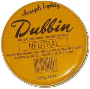 DUBBIN LEATHER PRESERVER & WATERPROOFER - 125gm