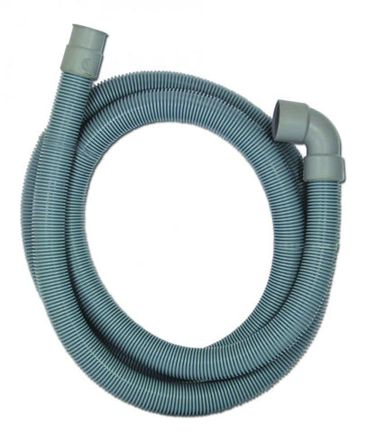 DRAIN HOSE - WASHING MACHINE  - CORRUGATED - 2 METRES