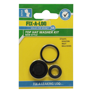TOILET WASHER KIT  - TOP HAT - NEW DOULTON