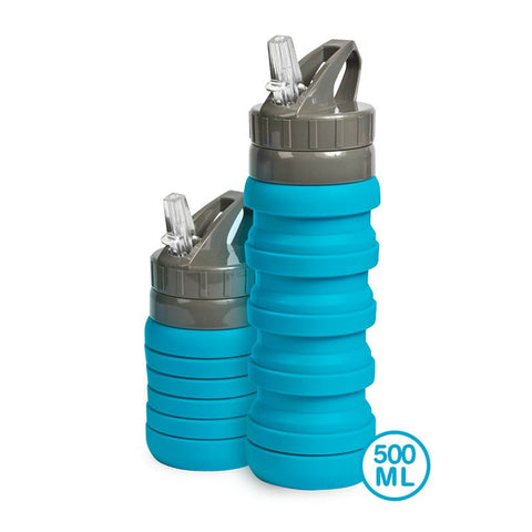 BOTTLE - POP UP COMPACT - 500ML - AQUA