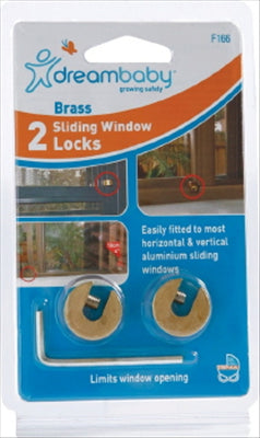 SLIDING WINDOW LOCKS - 2 PACK