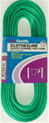 CLOTHESLINE - POLY CORE - PVC/POLY COATED - 5mm x 15 metres