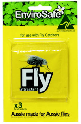FLY ATTRACTANT - 3 PACK - ENVIROSAFE