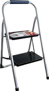 LADDER  - 2 STEP - WIDE STEPS - RATED TO 100KG - FAULCONER