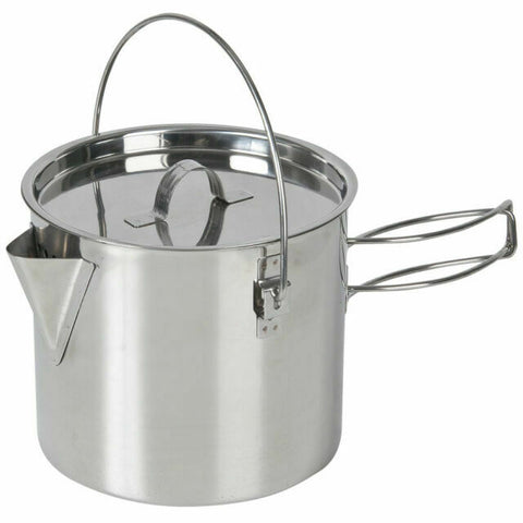 KETTLE - BILLY STYLE KETTLE - 750ml - STAINLESS STEEL - PRIMUS