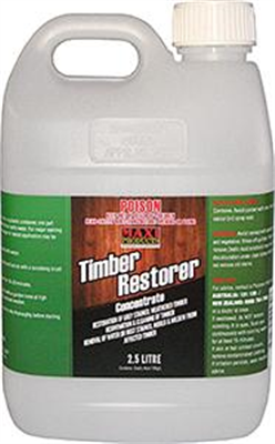 TIMBER RESTORER/CLEANER - CONCENTRATE MAXI - 2.5 LITRE