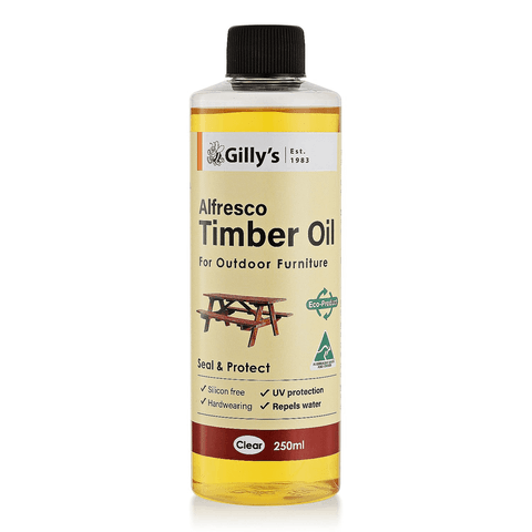 WOOD OIL - ALFRESCO TIMBER OIL - TUNG OIL BASED - 250ml