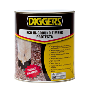 TIMBER PROTECTOR - ECO - IN GROUND  - 1 LITRE - DIGGERS