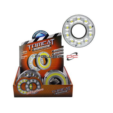 10 LED PUCK LIGHT - 3 WATT COB - TOMCAT